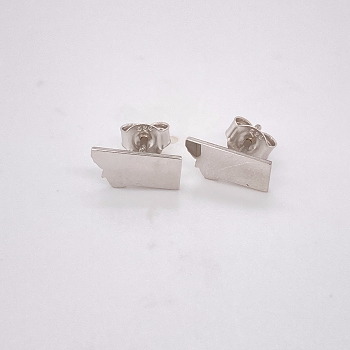 Sterling Silver Montana Earrings